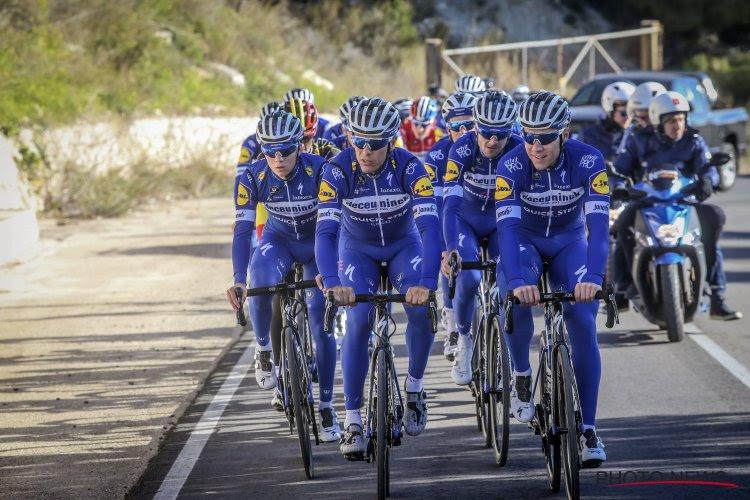 Deceuninck Quick-Step dévoile sa sélection pour le Tour de Suisse