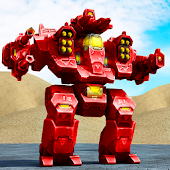 Mech Robot War 2050 Android APK Download Free By Awesome Action Games