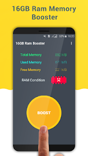 16 GB Ram Booster Pro - One Tap Speed Booster - náhled