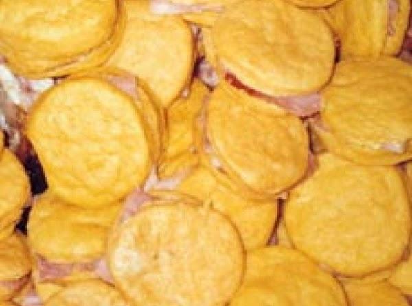 Sweet Potato Ham Biscuits Recipe