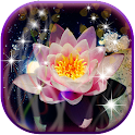 3D Lotus Live Wallpaper icon