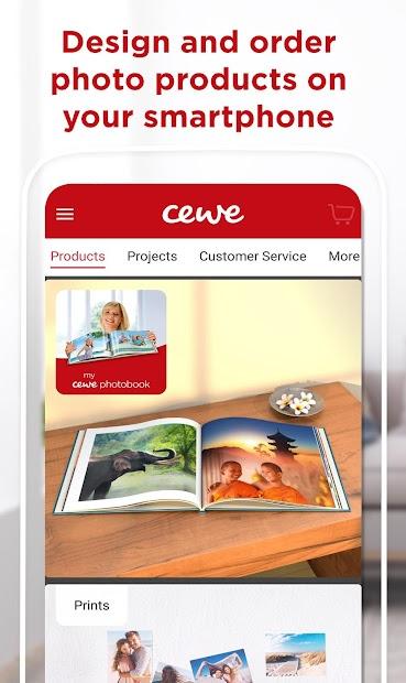 cewe photoworld - photo books and calendars Android App Screenshot