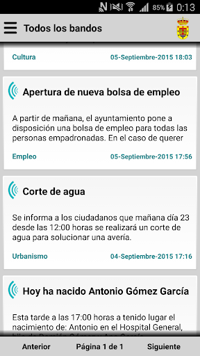 Villar de Rena Informa