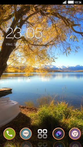 Autumn Lake CLauncher Theme