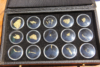Photo: Stop 5 - Liberty Gold Mine - Native Gold Crystals