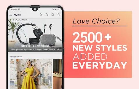 Myntra Online Shopping App 4