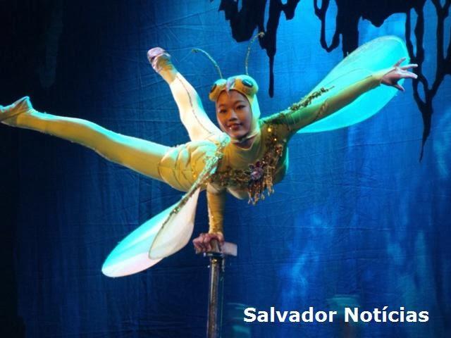 Circo da China em Salvador