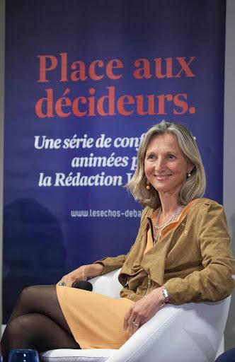 Club Les Echos Débats avec Clara GAYMARD, Présidente et Directrice Générale de General Electric France