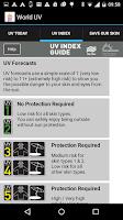 Screenshot of World UV
