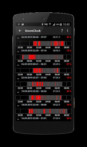 SnoreClock - Do you snore?  app download 2