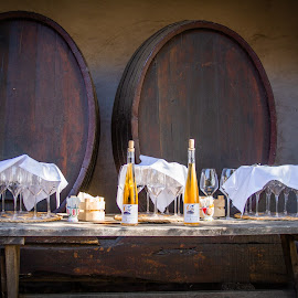 by William Stansbury - Food & Drink Alcohol & Drinks ( kegs, sicily, winery, wine, italy )
