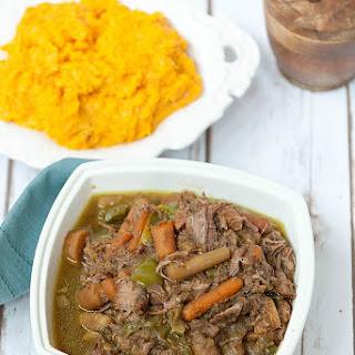 Slow Cooker Caribbean Beef Stew.