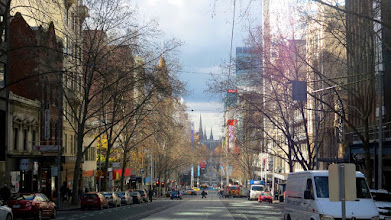 Photo: Melbourne - Bourke St.