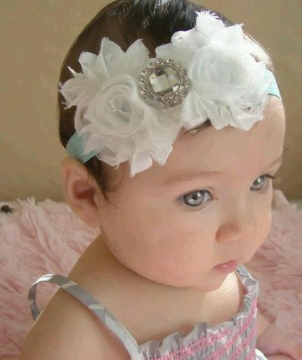 赤ちゃんヘッドバンド