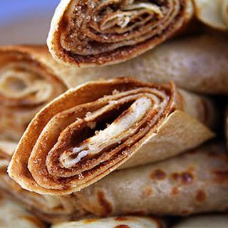 Pancakes with Cinnamon & Sugar Recipe