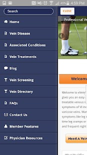 Vein Screening Online- screenshot thumbnail
