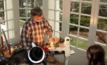 Photo: The Strathmore sun room is a wonderful space for turning.