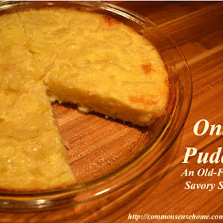 Cheese And Onion Pudding Recipes