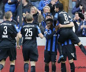 Club Brugge legt er vijf in het mandje tegen een wel heel erg zwak Zulte Waregem
