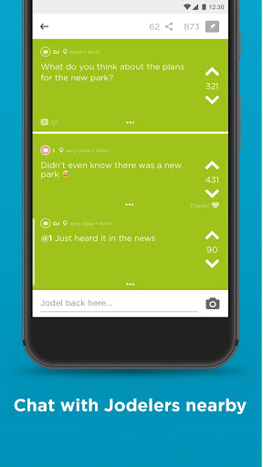 Jodel - Hyperlocal Community 5.98.2 screenshots 2