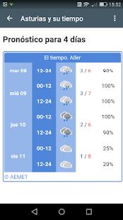 Tiempo Asturias Apps On Google Play