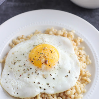 Parmesan-Asiago Breakfast Couscous.