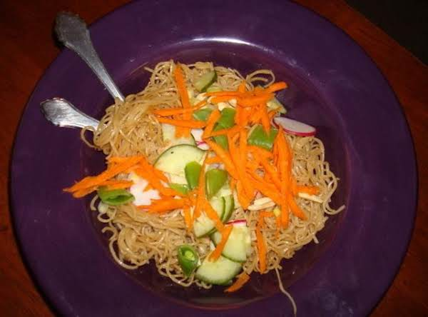 Cold Chinese Noodles Recipe