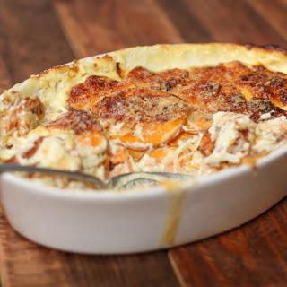 Sweet Potato White Potato Gratin Recipes