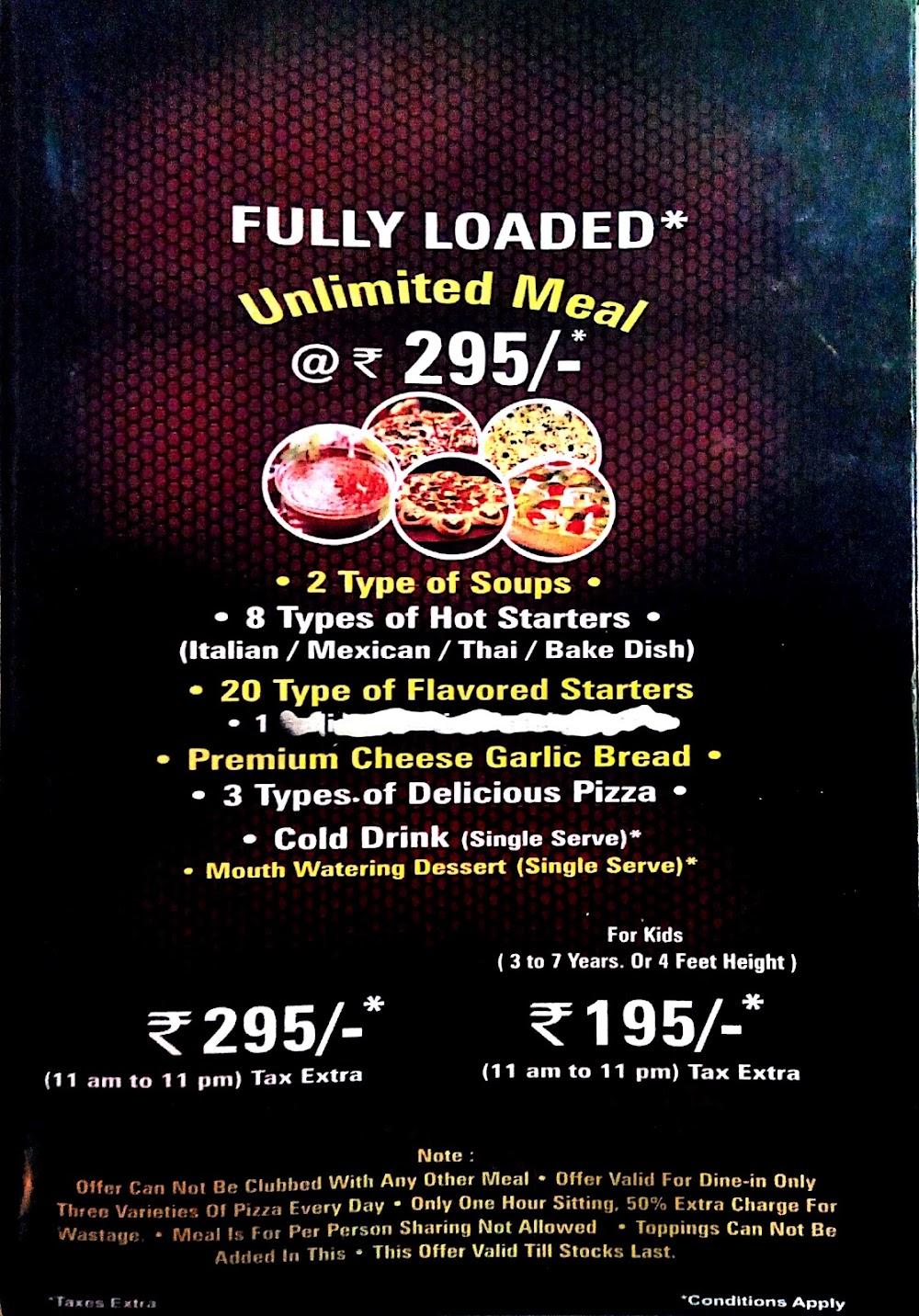 Pizza Burst Mira Road menu 2