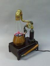Photo: plasma lamp steampunk