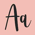 Fonts Art: Keyboard Fonts, Symbols, Cool Text icon