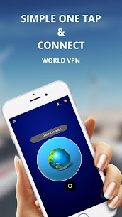 WORLD VPN –  Free VPN proxy , Fast & Unlimited VPN App Download For Android 2