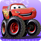 Mcqueen Lightning-Monster Truck