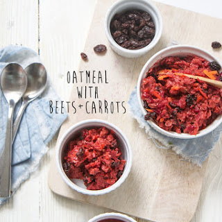 Oatmeal with Beets + Carrots