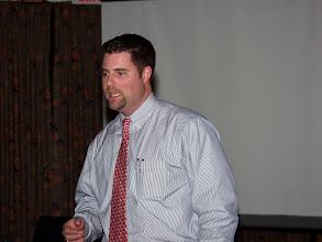 Photo: a fine representative of Evapco, Nick Torres described their services