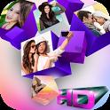 3D Collage Photo Frame icon