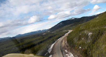 Photo: Flying the Alaska Highway from Watson Lake to Whitehorse, Yukon