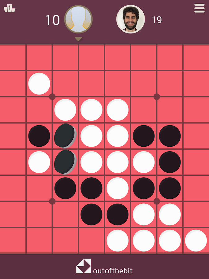 Reversi - (Othello) - Classic Strategy Board Games- screenshot