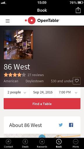86 WEST