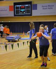 Photo: 31. Hallensportfest Rostock: Ballstoßen