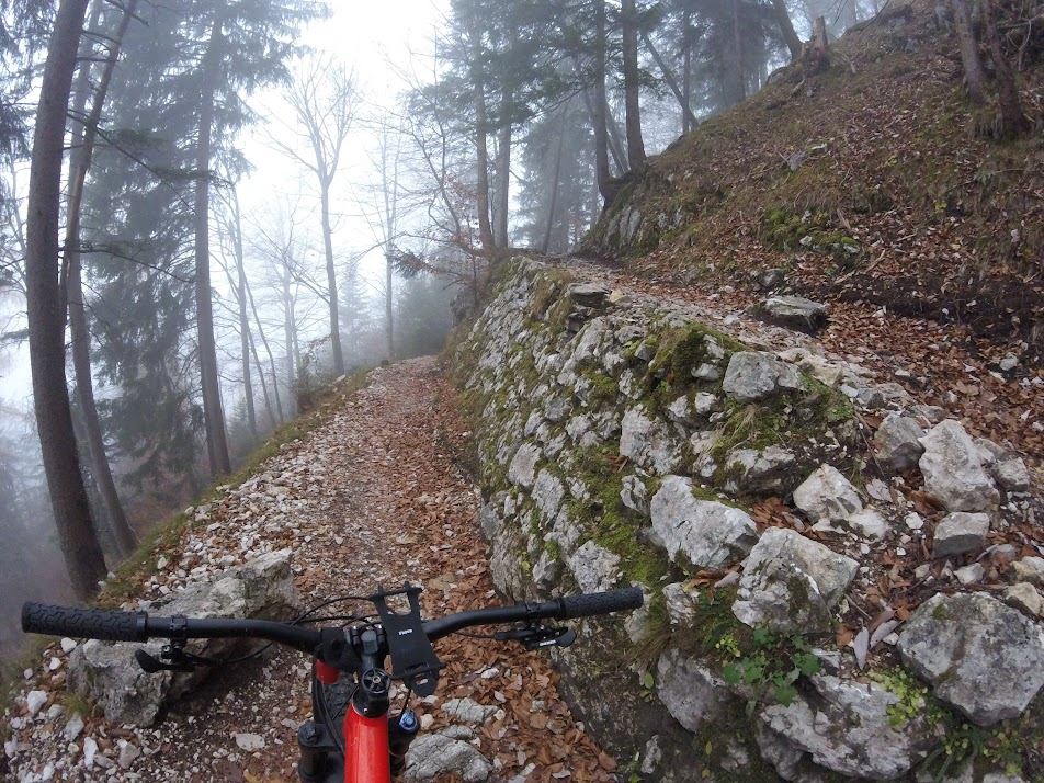 Chiemgau Alps: Kampenwand mtb round - Nov 19