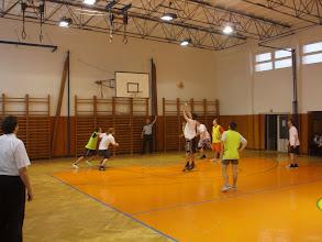 Photo: Vánoční exhibiční utkání školního basketbalového týmu - středa 22. prosinec 2010.