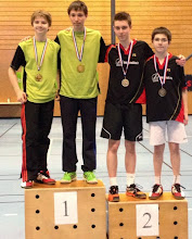 Photo: Alsace 2014 Double Hommes Minimes Médaille d'Argent: Julien Limbach/Pierre Ordureau