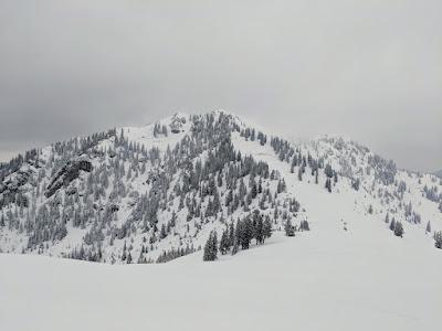 Trainsjoch and Ascherjoch, Tirol skitour - Mar 19