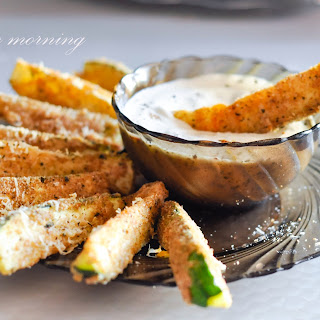 Summer, Don't Go or Parmesan Crusted Baked Zucchini Sticks.