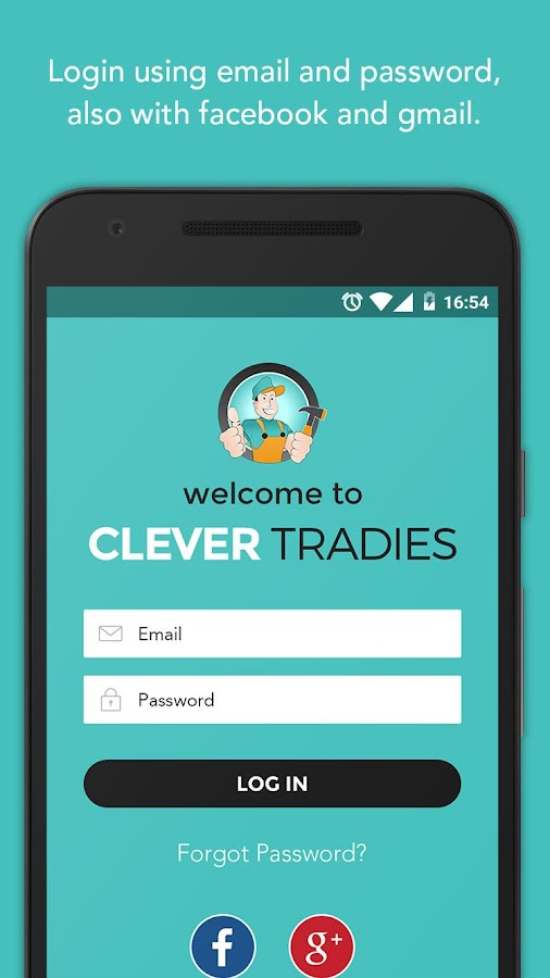 Clever Tradies- screenshot