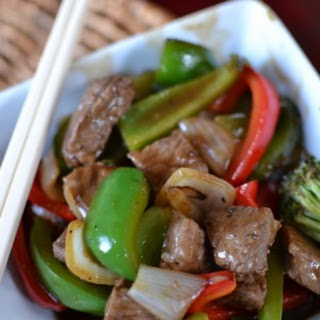 Spicy Steak & Peppers