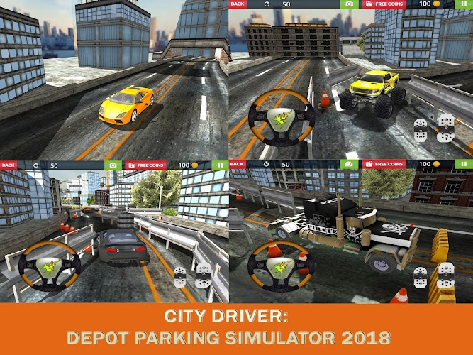 Download Real City: Depot Parking Simulator 2018 APK latest