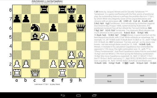Chesser - a free chess viewer 1.7 screenshots 4