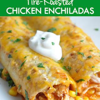 Fire-Roasted Chicken Enchiladas.